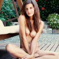 Nude 18 Years Old Babe Posing Nude Outdoor