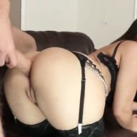 Masturbate Squirting with Hardcore pussy anal fuck for maid Gabriella Paltrova
