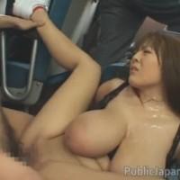 Busty Asian Girl Hitomi Tanaka Gangbang