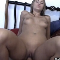 Cute amateur blonde loves the taste of hard cock – POV