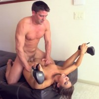 Madison Ivy Busty Brunette Gets a Pussy Full of Cum