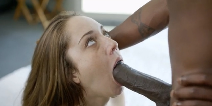 Remy Lacroix on vacation gets black monster cock