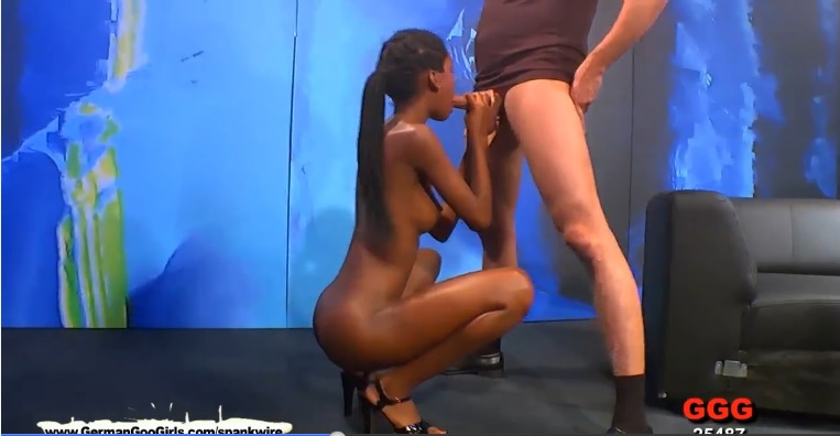 Beautiful ebony young slut Zara interracial satisfy