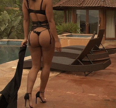 Sexy Lingerie on the poolside