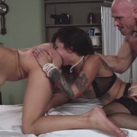 Threesome sex at the doctors office