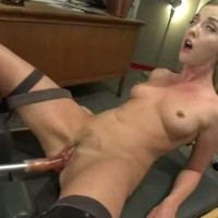 Fuck machine orgasm screaming and squirting Karla Kush