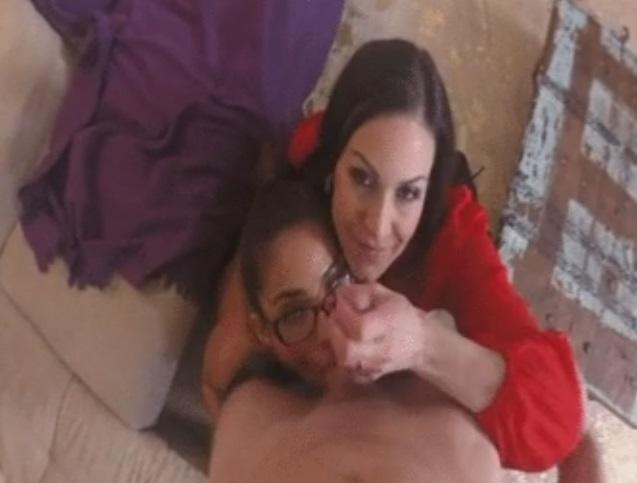 Big Ass Latina Threesome Pov