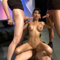Kim Triple X Gangbang Session