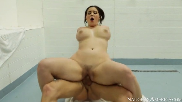 Big Tits Brunette Noelle Fucked Nice After Shower