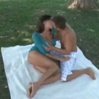 Sensual Jane fucked at picnic