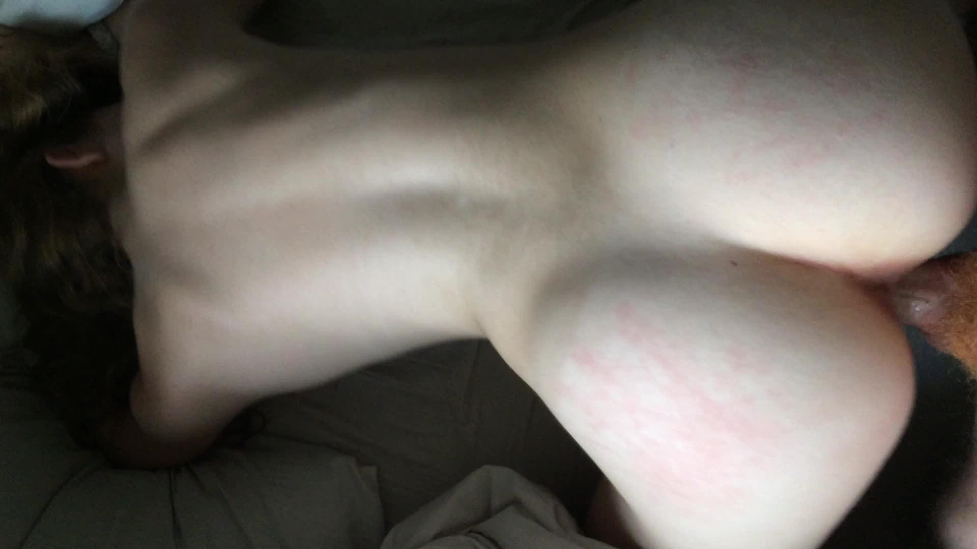 Cute white girlfriend sucking very big black cock - 3 part 4