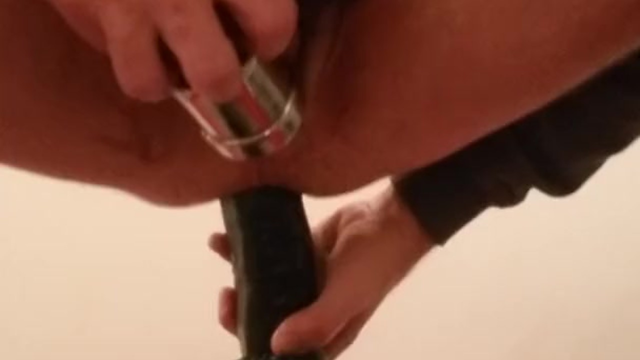 Outstanding Anal fuck : 13.3 in insertable dick rambone