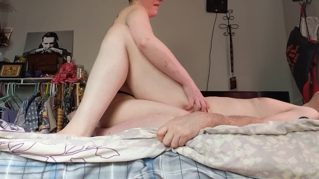 Amazing Anal Hole fuck : my hot co-exhibitioist wife uses me for her pleasure