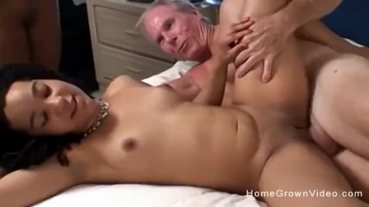 Old Man Big Cock Fucks Teen