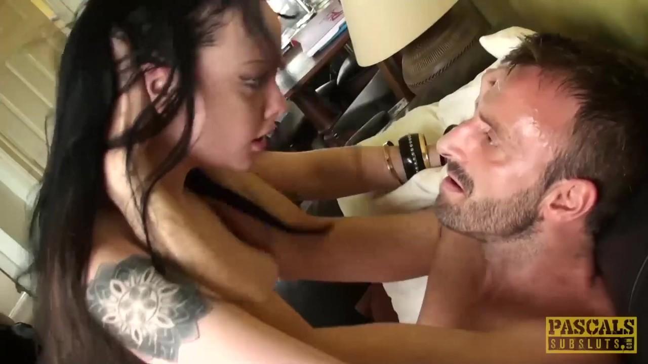 Superb Teen fucking : PASCALSSUBSLUTS – Teen Alessa Savage throated and slammed