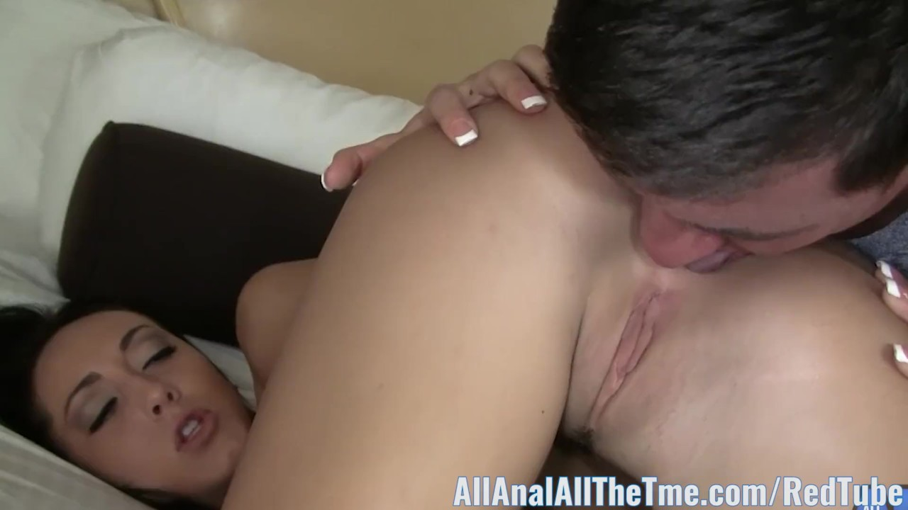 Admirable Anal Hole : Tan Babe Sabrina Banks Gets Ass Spread and Licked for AAT!