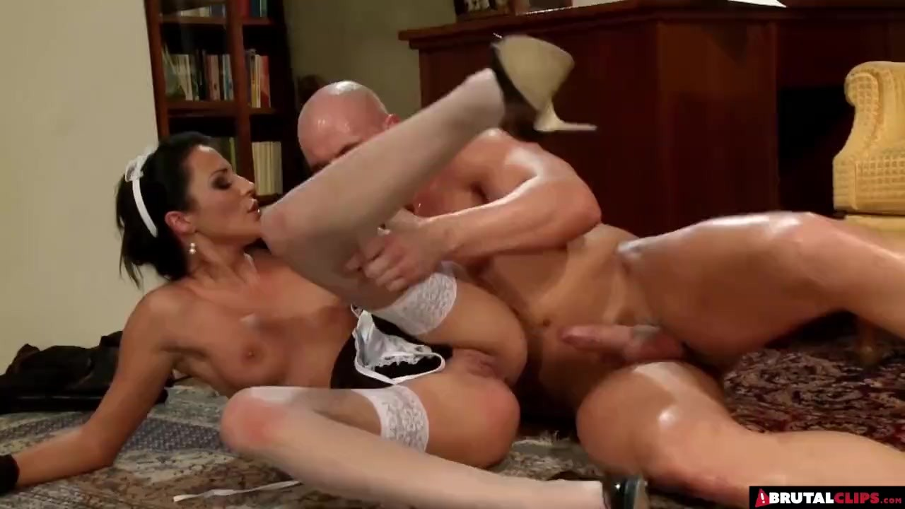 Outstanding Teen Babe sex : Ruining His French Maid Sexually