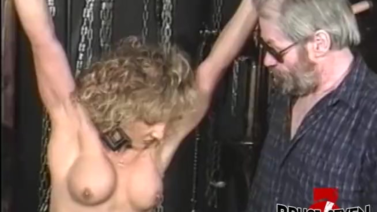 Surprising Teen sex : Submissive babe gets her titties slapped while she is bound