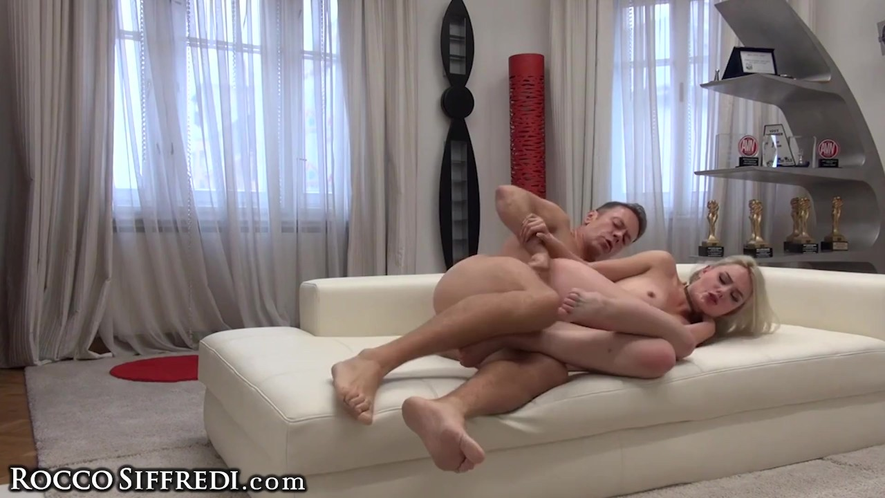 Marvelous Teen Babe fucking :  Rocco Siffredi's Cock in Amateur Teen Ass & Dildo DP's her Pussy!