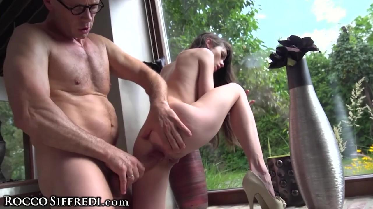Amazing Teen Babe :  Rocco Siffredi Gets 2 Nasty Teen Sluts All to Himself!
