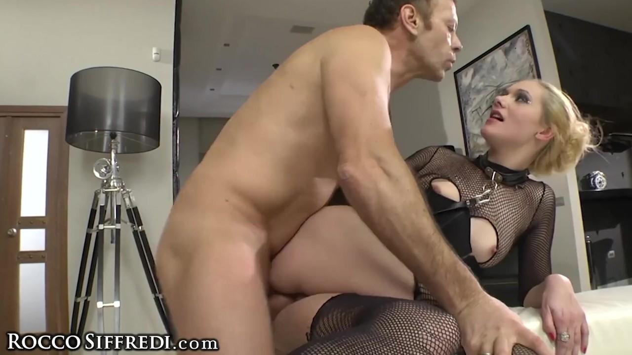 Marvelous Ass : Amateur Teen Masturbates 2 Rocco Siffredi Anal Fucking His Slave