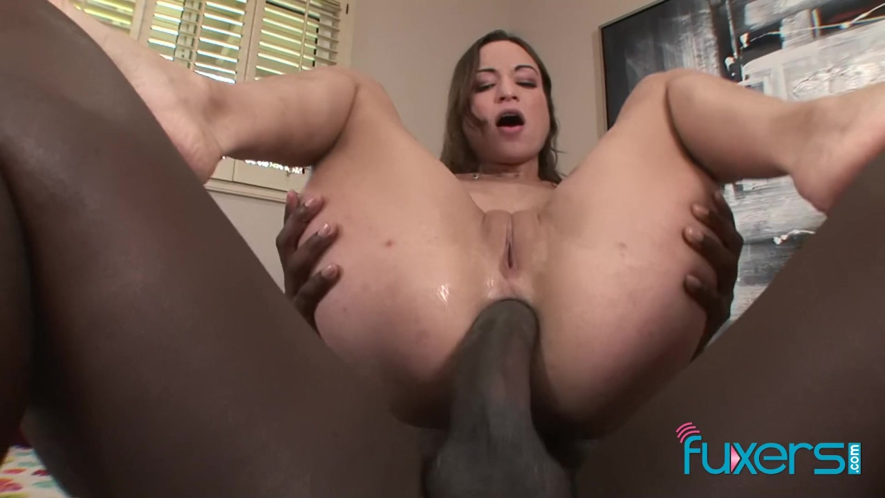Mylie Moore Interracial Anal