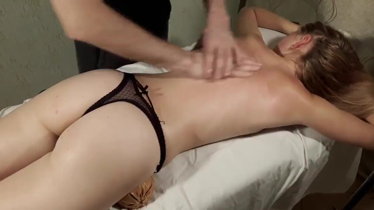 Phenomenal Teen Babe porn : Solved the problem with the back of a sweet tiny girl. Russian Massage
