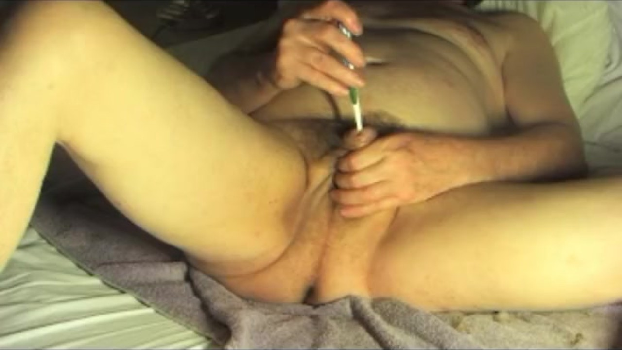 Sensational Anal : straight boy slave urethral sounding fetish extreme dildo bdsm 119