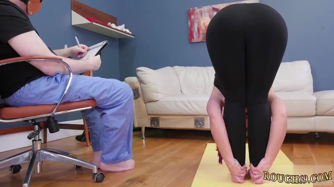 Outstanding Teen fucking : Rough revenge Ass-Slave Yoga