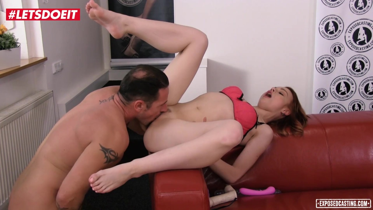 Astonishing Ass sex : LETSDOEIT – Redhead Teen Rebeca Tries Anal For The First Time At Casting!