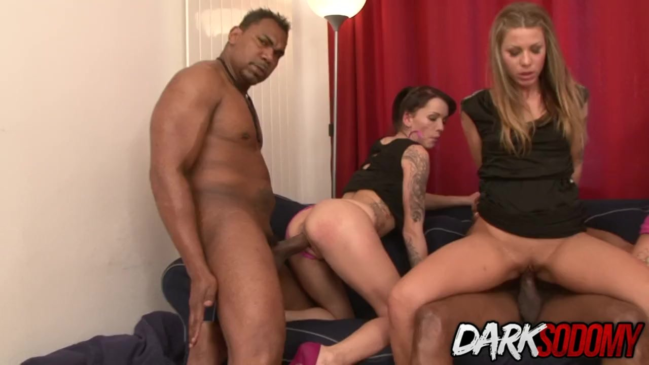 Fantastic Ass fucking : Four Wild Sluts Fill Every Single Hole with BBC and Toys