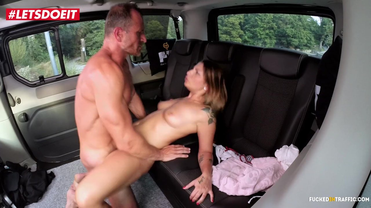 Phenomenal Teen sex : LETSDOEIT – Petite Czech Teen Cums Hard In Taxi In Public