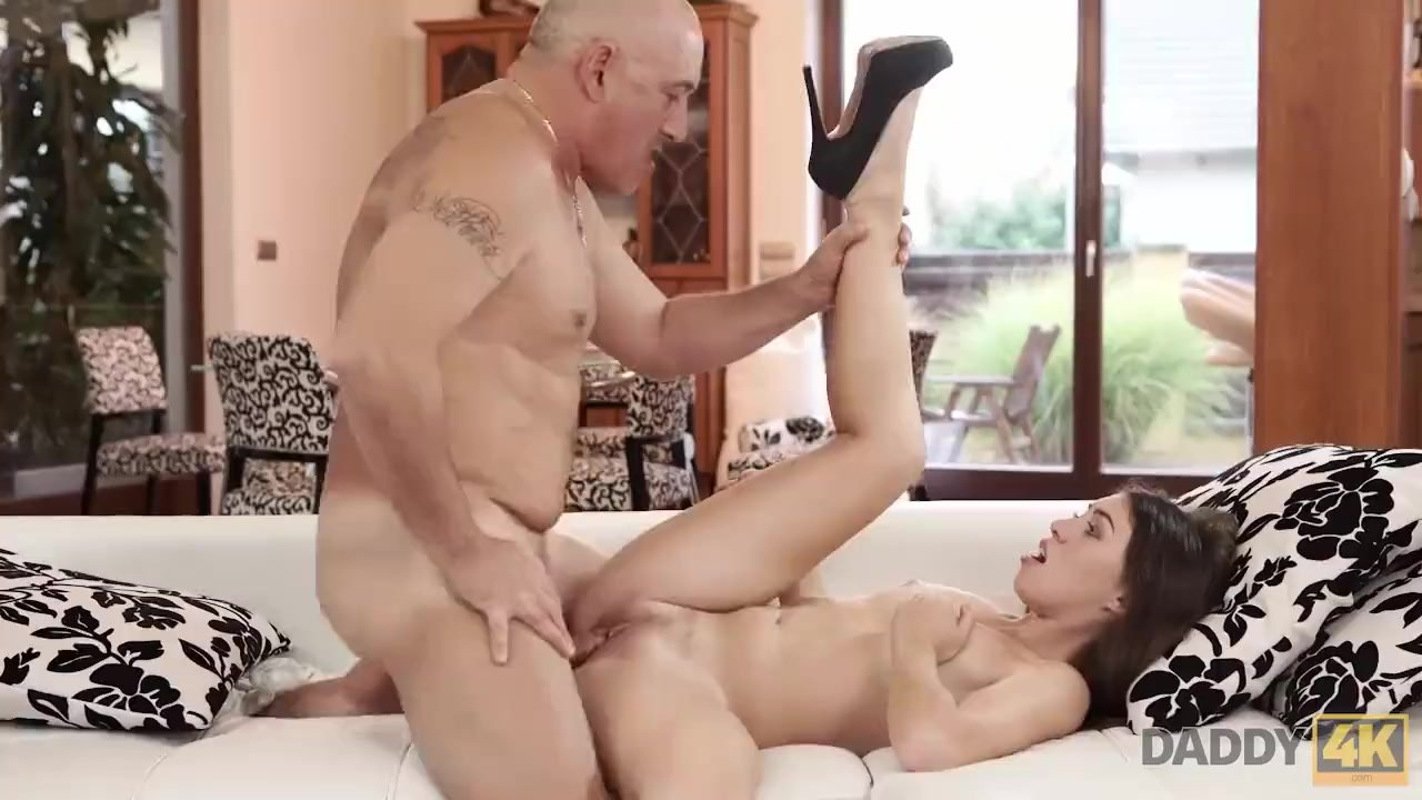 Brilliant Babes sex : DADDY4K. Tiffany is left by boyfriend but she makes love to his dad